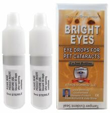 ETHOS Bright Eyes catarata colirio para mascotas 2 X 5 Ml Botellas