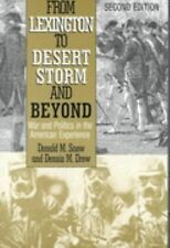 Donald M Snow - From Lexington To Desert Storm (2001) - Used - Trade Cloth