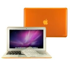 "3 in 1 Crystal ORANGE  Case for Macbook Air 11"" A1370 + Key Cover + LCD Screen"