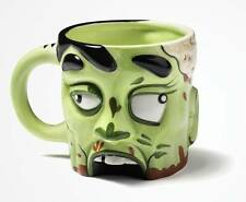 Ceramic Zombie Head Coffee Tea Mug Cup 16 oz The Walking Dead Undead Gift NEW