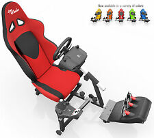 OpenWheeler Racing Seat Driving Simulator Gaming Seat and Stand