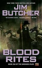 Blood Rites (The Dresden Files, Book 6), Jim  Butcher, Acceptable Book