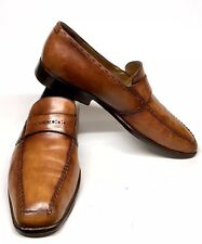 Sz. 9-10 BERLUTI Loafers Beautiful Patina Tan Brown Shoes Made In ITALY
