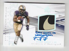 2014 SP AUTHENTIC BISHOP SANKEY RC AUTO INSCRIBED NIKE SWOOSH LOGO PATCH 3/10