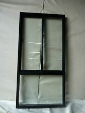 1 OFF ALUMINIUM SLIDE+FIXED WINDOWS 900 WIDE X 2100 HIGH  DOUBLE GLAZED