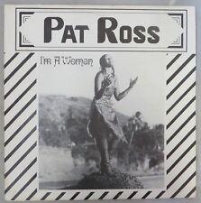 "Pat Ross ""I'm A Woman"", Afrobeat Disco, Gibraltor Records GIB 001 45RPM 12"""