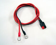 "ANDERSON POWERPOLE Sermos 36"" 30A DC Power Supply Cord 12AWG 1/4"" Ring Terminals"