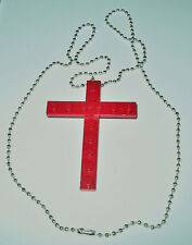 1 LEGO CROSS NECKLACE RELIGIOUS U PICK COLOR FIRST COMMUNION CONFIRMATION EASTER