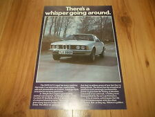 BMW 633 COUPE-1977 original advert