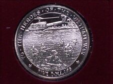 Marshall Islands The Heroes of the Vietnam War Five Dollar Proof!