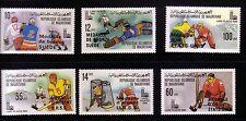 Mauritania: 1980 Scott 440 - 445 Never hinged . MU02