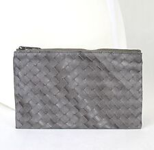 New Authentic BOTTEGA VENETA Intrecciolusion Nylon Cosmetic Bag Pouch 301369
