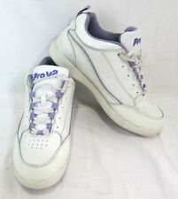 Pro V2 Womens Bowling Shoes White and Purple Size 5.5 US Lace UP