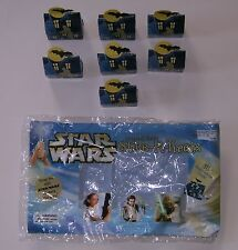 Star Wars Stickers 2002 Haunted House Stick-R-Treats Halloween Half Bag 7 Boxes