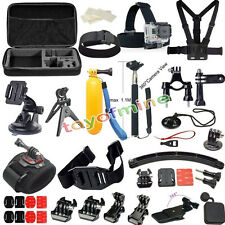 37 All-in-1 Professional Kit Accessori Bundle per GoPro HD Hero 4 3 + 2 SJ4000