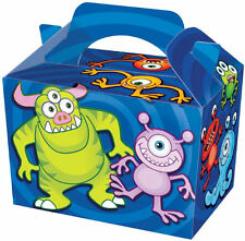 10 Monster Party Boxes - Food Loot Lunch Cardboard Gift Kids