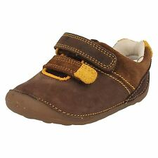 Boys Clarks Cruisers Tiny Seb UK 2H/EU 17.5;UK2.5G/EU18