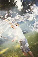 Monster Bubbles 210-Section (2-Piece) Wand - Makes Hundreds of Soap Bubbles
