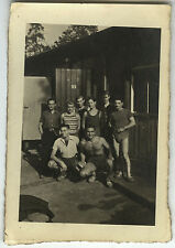 PHOTO ANCIENNE - VINTAGE SNAPSHOT - MILITAIRE CAMP LAGER 17 BERLIN STO 1943  5