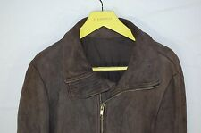 SUPER GORGEOUS!! Rick Owens  & OLMAR & MIRTA MEN ZIP UP LAMB LEATHER JACKET XL