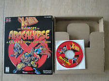 X-MEN THE RAVAGES OF APOCALYPSE BIG BOX PC CD-ROM MARVEL QUAKE CONVERSION