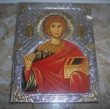 New Russian Icon Silver 22K Gold with certificate  .