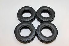Tires set for Tamiya Toyota Hilux 4X4 first generation 58028 RA1028