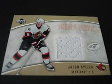 UPPER DECK NHL FROZEN FABRIC GAME USED JERSEY TRADING CARD-JASON SPEZZA SENATORS