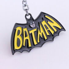 BATMAN 60s style Raised Detail Classic DC Comics Full Metal Key chain cosplay