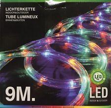 LED-Lichtschlauch 9 m bunt für den Außenbereich Lichterschlauch mehrfarbig