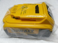 (1) New GENUINE Dewalt 20V DCB204 4.0 AH MAX XR Battery Sealed Package!