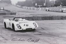 Chris Craft Hand Signed 12x8 Photo Le Mans 4.