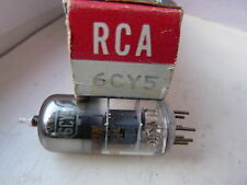 6CY5 RCA  NEW OLD STOCK   VALVE TUBE  F14