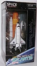 SPACE : SPACE SHUTTLE  ATLANTISU & SRB 1/400 SCALE MODEL MADE BY DRAGON IN 2012