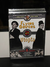 Laurel and Hardy - Flying Deuces, The / Utopia (DVD) Double Feature) BRAND NEW!