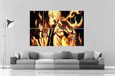NARUTO KYUUBI MODE ANIME MANGA  Wall Art Poster Grand format A0