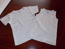 2 Unterhemdchen weiß Gr.  98