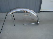 Vintage Honda Front Fender & Support Chrome Vintage Motorcycle