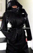 THE NORTH FACE BLACK JACKET RAINCOAT TRENCH WOMEN'S SIZE LARGE NEW