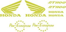 Hon Pan European ST1100 Chrome replacement Sticker Decals Fairing Tank Graphics