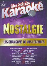 Mes Soirées Karaoke : Nostalgie / Les chansons de vos légendes vol. 2 (DVD)