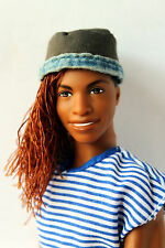 Ken Doll African American Darren So in Style Rerooted Redressed