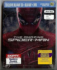The Amazing Spider-Man (Blu-ray Disc, 2012, 3D; Steelbook)