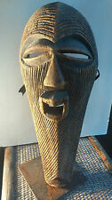 old African mask.ancien Masque africain SONGYE