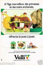 Publicité advertising 1983 Les Jouets Vulli