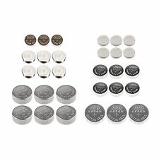 30 Piece Assorted Button Cell Batteries for Electronic Repairs
