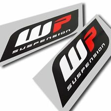 WP suspension forks stickers motorcycle decals  graphics x 4 smallest style#2