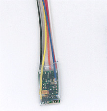 "N/Z DCC Decoder, 3"" Wires 4-Function 1A, NCE Corporation 129"