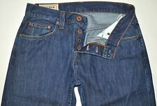 J Brand Walker Medium Dark Blue Relaxed Straight Jeans Stone Wash 31X31 AWESOME