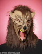 DELUXE WEREWOLF DARK WORLD LATEX FULL OVERHEAD MASK HALLOWEEN COSTUME ACCESSORY